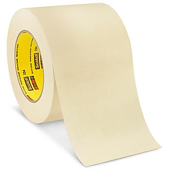 """3M 234 High Temperature Masking Tape - 4"""" x 60 yds S-15927"""