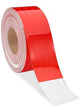 """3M Reflective Conspicuity Tape - 3"""" x 150', Red/White S-15938"""