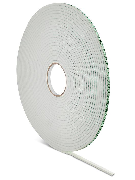 """3M 4004 Double-Sided Foam Tape - 1/4"""" x 18 yds S-15949"""