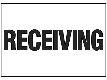 """""""Receiving"""" Sign"""