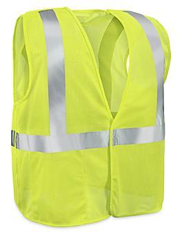 Class 2 Breakaway Hi-Vis Safety Vest - Lime, 2XL/3XL S-16171G-2X