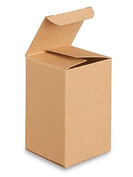"Reverse Tuck Cartons - Kraft, 3 x 3 x 5"" S-16329"