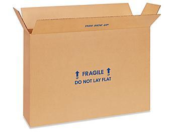 "28 x 6 x 20"" FOL Flat-Panel TV Boxes S-16336"