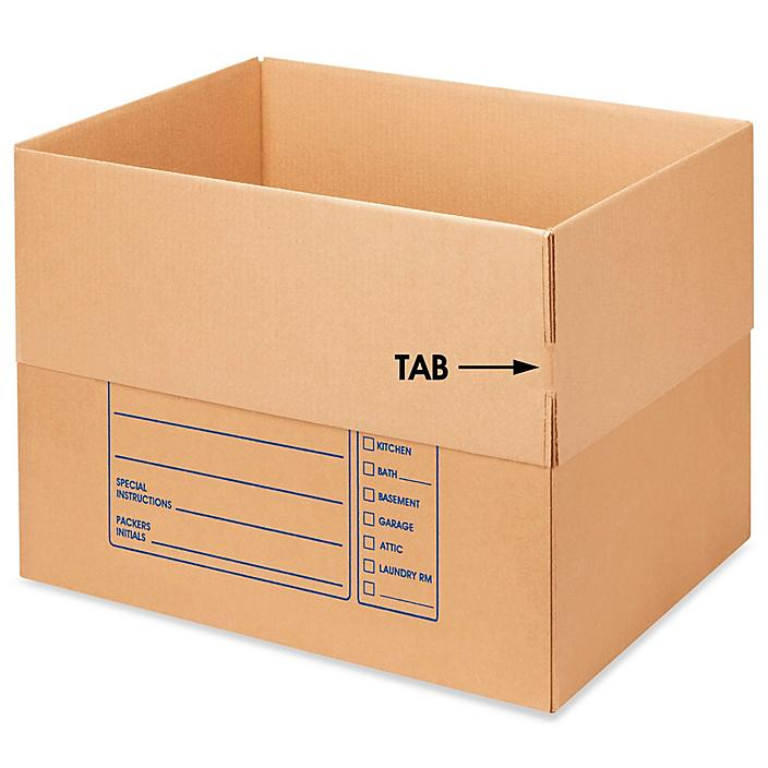 """24 x 18 x 18"""" Deluxe Moving Corrugated Boxes S-16378"""