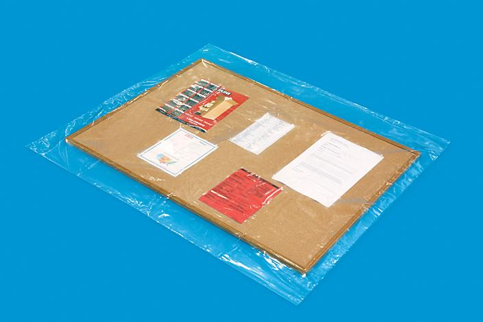 """48 x 54"""" 3 Mil Industrial Poly Bags S-16449"""