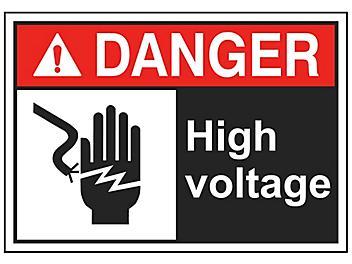 """""""High Voltage"""" Sign"""