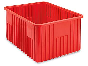"""Divider Box - 20 x 15 x 12"""", Red S-16979R"""
