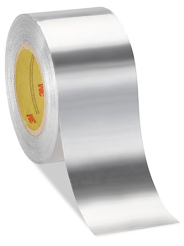 "3M 438 Heavy-Duty Aluminum Foil Tape - 3"" x 60 yds S-17481"