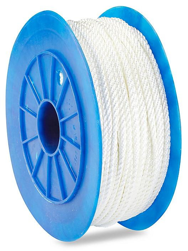 "Twisted Nylon Rope - 1/4"" x 600' S-18516"