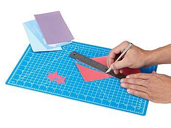 """Self-Healing Cutting Mat - 18 x 12"""", Blue S-18543"""