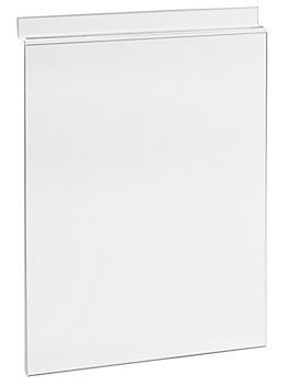 "Slatwall Sign Holder - 8 1/2 x 11"" S-18601"