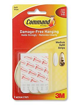 3M 17021ES Command™ Refill Strips - Medium S-18766
