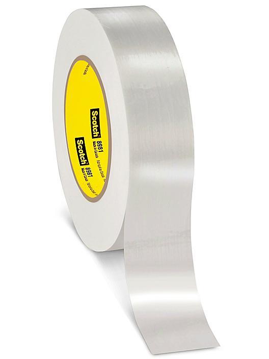 """3M 8981 Industrial Strapping Tape - 1 1/2"""" x 60 yds S-18827"""