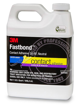 3M 30NF Contact Adhesive - 1 Quart, Neutral S-18900N