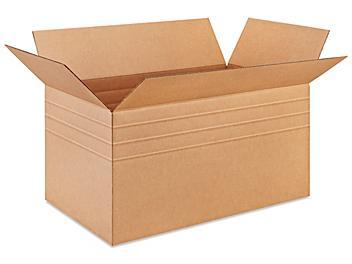 """30 x 17 x 16"""" Multi-Depth Corrugated Boxes S-18982"""