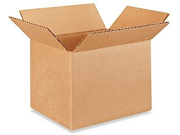 """8 x 6 x 6"""" Lightweight 32 ECT Corrugated Boxes S-19041"""