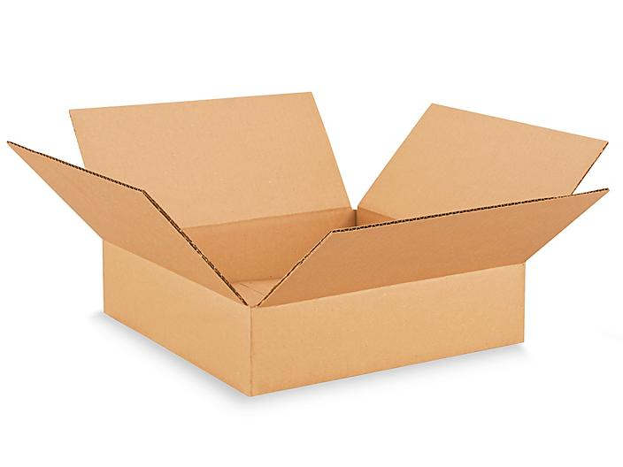 """13 x 13 x 3"""" Corrugated Boxes S-19090"""