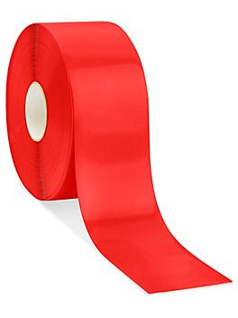 """Mighty Line® Deluxe Safety Tape - 4"""" x 100', Red S-19125R"""