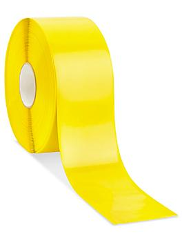 """Mighty Line® Deluxe Safety Tape - 4"""" x 100', Yellow S-19125Y"""