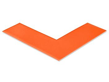 """Mighty Line® Deluxe Safety Tape Angles - 6 x 6 x 2"""", Orange S-19126O"""
