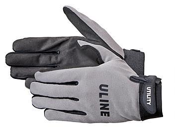 Uline Utility Gloves - Gray, 2XL S-19190GR-2X