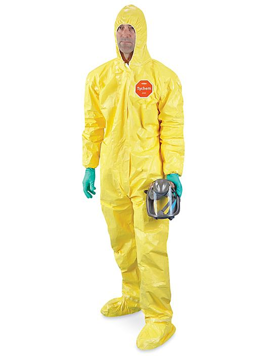 Tychem® QC Deluxe Coverall - 3XL S-19205E-3X