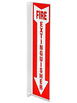 """Projecting Sign - """"Fire Extinguisher"""", 2-Way S-19259"""