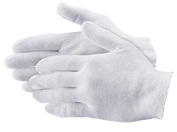 """Cotton Inspection Gloves - Heavy Weight, 9"""", Ladies' S-19284L"""