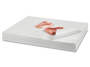 """Butcher Paper Sheets - White, 24 x 30"""" S-19326"""