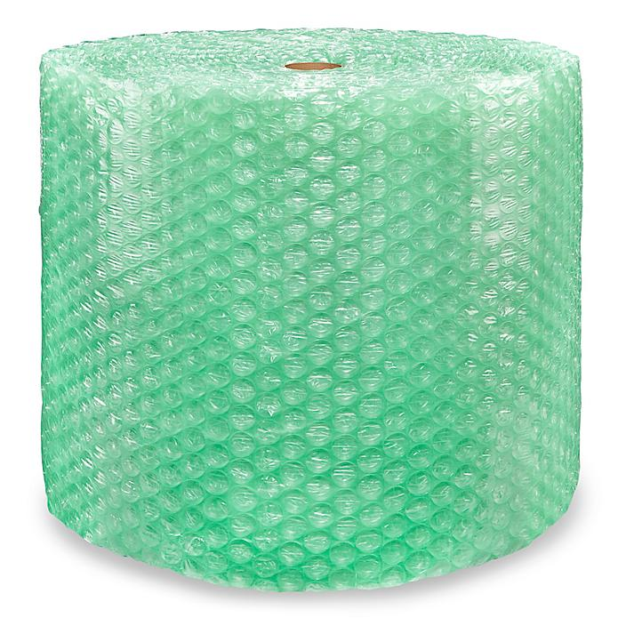 """UPSable Eco-Friendly Bubble Roll - 24"""" x 125', 1/2"""", Perforated S-19334P"""