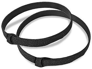 """Velcro® Brand Cable Ties - 3/4 x 18"""", Black S-19437"""