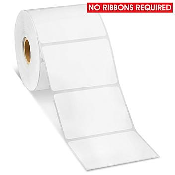 """Removable Adhesive Desktop Direct Thermal Labels - 3 x 2"""" S-19482"""