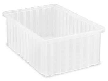 """Divider Box - 15 x 9 x 6"""", Clear S-19497"""