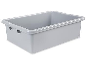 """Rubbermaid® Tote Box - 22 x 17 x 7"""" S-19501"""