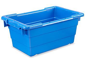 """Cross-Stack Tub - 18 x 11 x 8"""", Blue S-19502BLU"""