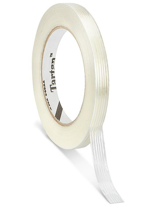 """3M 8932 Economy Strapping Tape - 1/2"""" x 60 yds S-19652"""