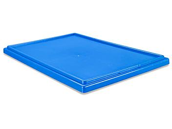 """Stack and Nest Container Lid - 23 x 16"""", Blue S-19694L-BLU"""