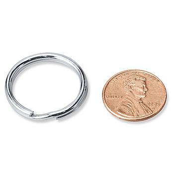 """Split Key Rings - 7/8"""" S-19721"""