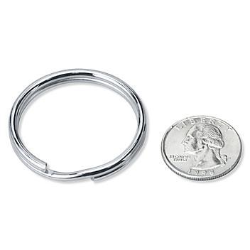 """Split Key Rings - 1 1/2"""" S-19724"""
