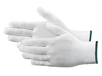 Deluxe Nylon Inspection Gloves - Medium S-19882M