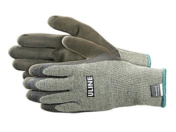 Uline Super Gription® Thermal Latex Coated Gloves - Small S-19884S