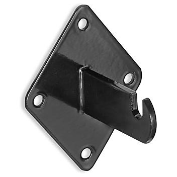 Wall Mount Bracket for Gridwall Panel - Black S-19930BL