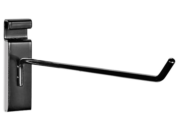 "Peg Hooks for Gridwall - 10"", Black S-19936BL"