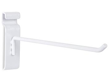 """Peg Hooks for Gridwall - 10"""", White S-19936W"""
