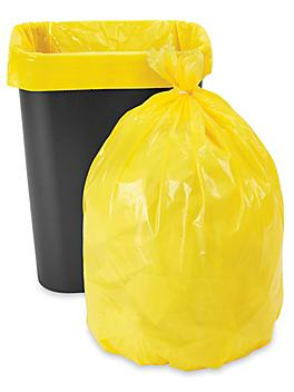 Trash Liners - 12-16 Gallon, Yellow S-19943Y