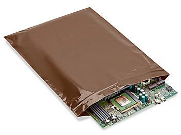 "12 x 15"" Amber UV Reclosable Bags S-20530"