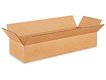 """24 x 8 x 4"""" Long Corrugated Boxes S-20535"""