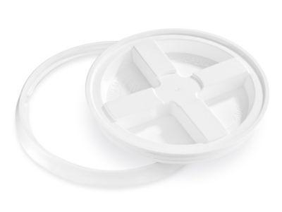 Gamma Seal Lid for 2 Gallon Plastic Pail - White