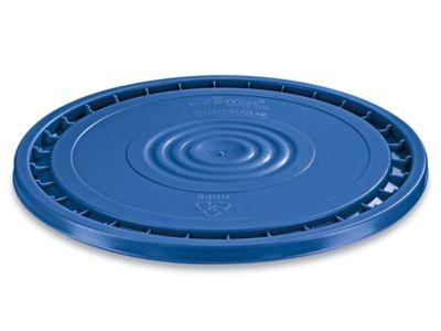 EZ Peel Lid for 3.5, 5, 6, and 7 Gallon Plastic Pail - Blue