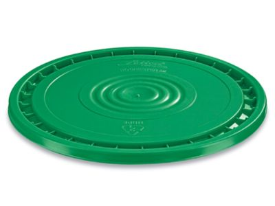 EZ Peel Lid for 3.5, 5, 6, and 7 Gallon Plastic Pail - Green